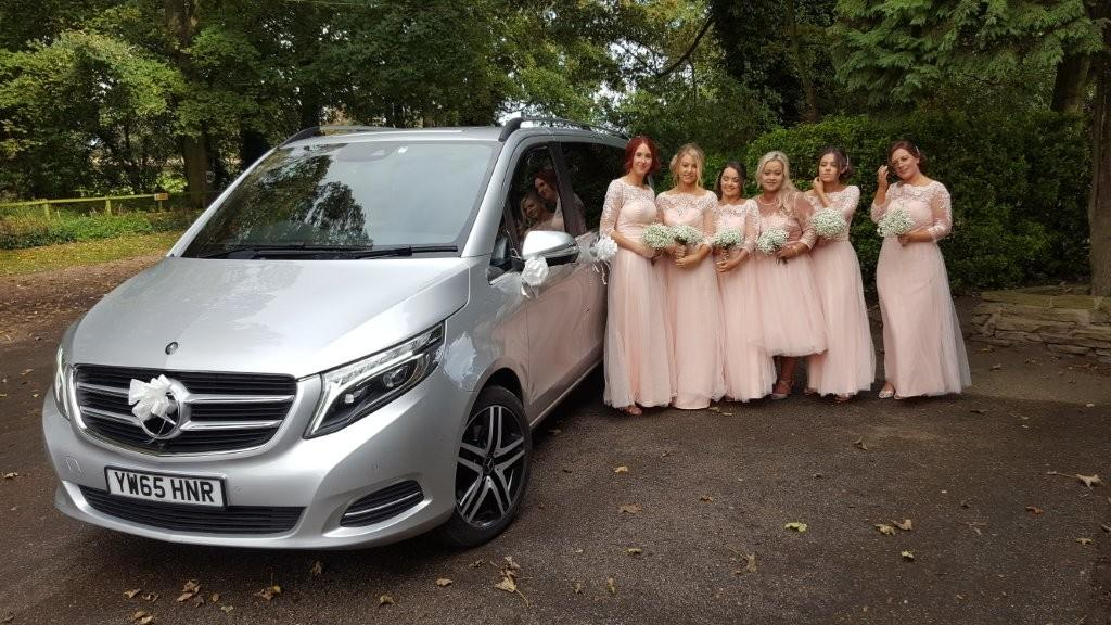 Mercedes People Carrier Wedding Car