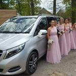 Mercedes V class executive luxury multi seater seats x 6 for the bridesmaids or family