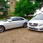 Mercedes S class & Mercedes luxury  Multi seaters AMG extra long wedding Limousines