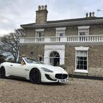 Maserati Gran Cabrio Supercar a truly stunning and rare wedding car