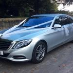 The New Mercedes S class Wedding car one of only 5 in the UK.