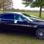 The Luxurious Mercedes S class AMG sports wedding car with extra legroom