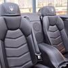 Stunning Luxury soft Leather racing interior- seats adults in the rear.