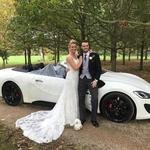 Maserati Gran Cabrio Supercar thrill drive experience wedding car